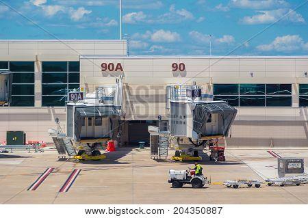 Orlando Airport Departure Gate