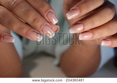 Manicure Design Of White French