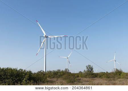 Generators Wind Farm Energy Turbine Alternative Green