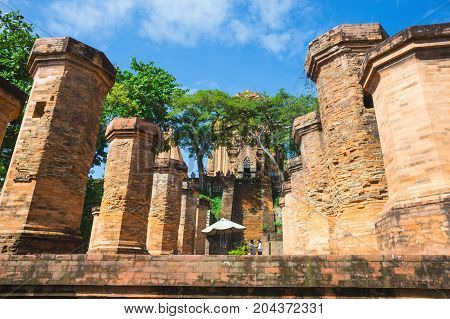 Po Ngar Cham Towers In Nha Trang