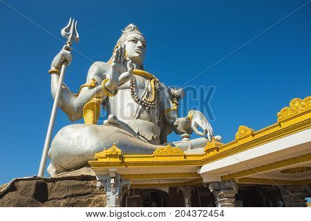 Statue Of Lord Shiva Was Built At Murudeshwar