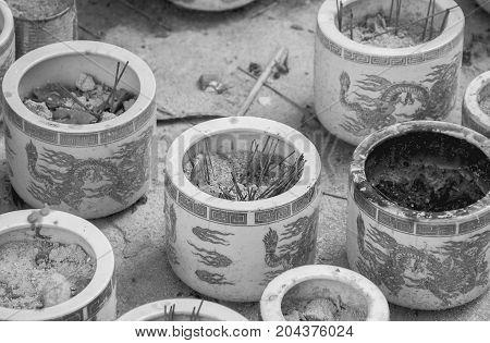 incense burner for adoration or Worship in Buddhism.
