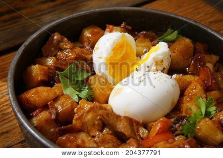 Delicious Stew Beef With Egg