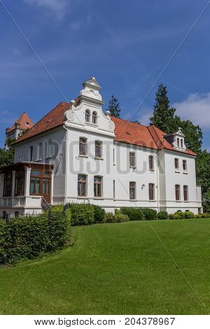 Little Castle In The Historical Center Of Aurich