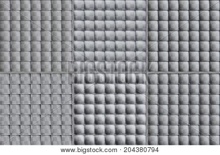 Set Of Transparent Seamless Patterns