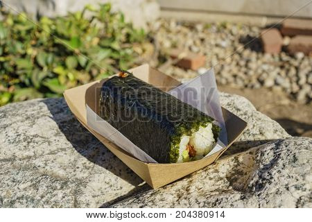 Delicious Japanese Style Rice Ball