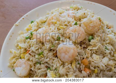 Delicious Taiwanese Style Shrimp Fry Rice