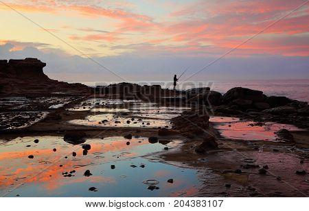 Low Tide On The Rockshelf