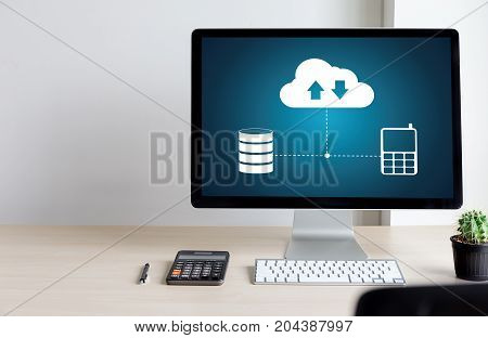 Live Streaming Backup Download Copies Of Data Computing Digital Data Transferring , Streaming Downlo