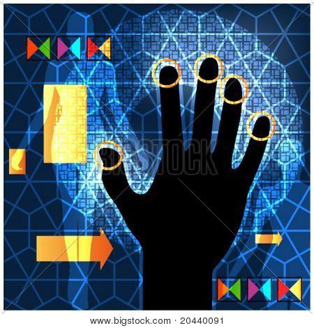 Handprint access networking technology esp10
