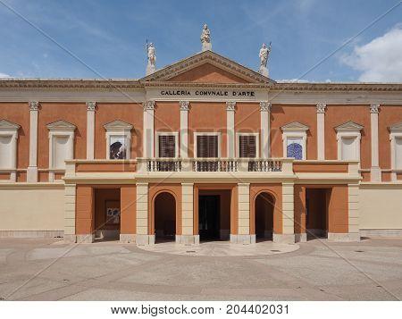 Galleria Comunale D Arte (municipal Art Gallery) In Cagliari