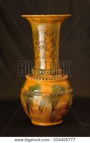 Oriental Antique Ceramic Vase