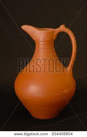 Oriental Antique Ceramic Pitcher
