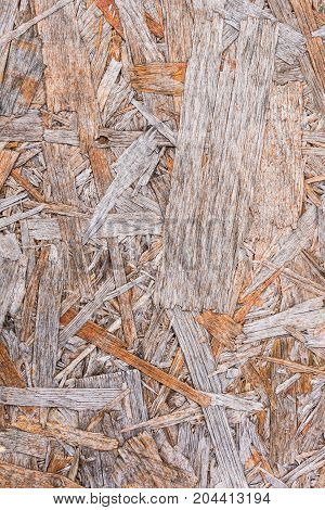 Recycled Compressed Wood Chippings Board Background
