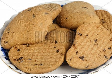 Biscuits With Chocolate Drops