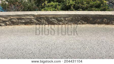 asphalt road. empty highway. asphalt road top view background
