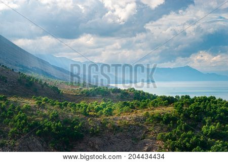 Albania is a mountainous country in the Balkans