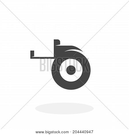 Tape measure icon isolated on white background. Tape measure vector logo. Flat design style. Modern vector pictogram for web graphics - stock vector