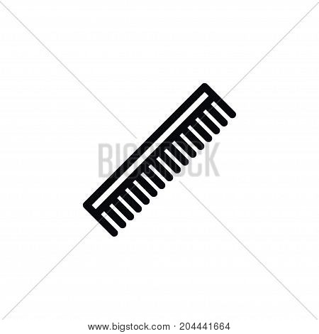 Barber Tool Vector Element Can Be Used For Hairbrush, Barber, Tool Design Concept.  Isolated Hairbrush Icon.