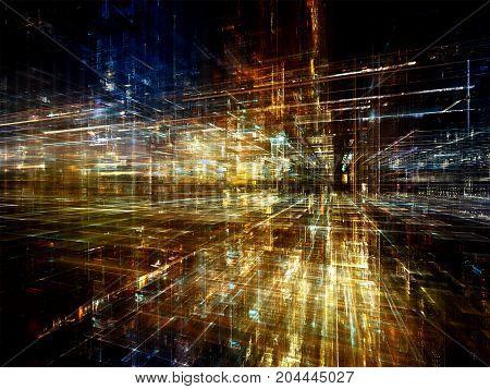 Visualization Of Virtual World