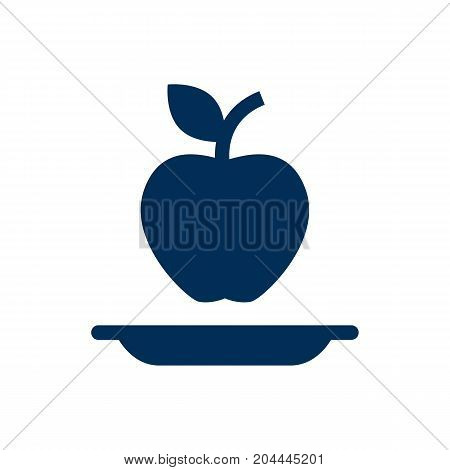 Isolated Healthy Eating Icon Symbol On Clean Background