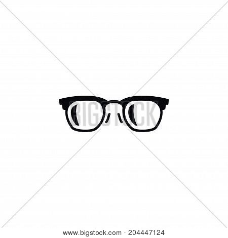 Sunglasses Vector Element Can Be Used For Frame, Sunglasses, Eyeglasses Design Concept.  Isolated Frame Icon.