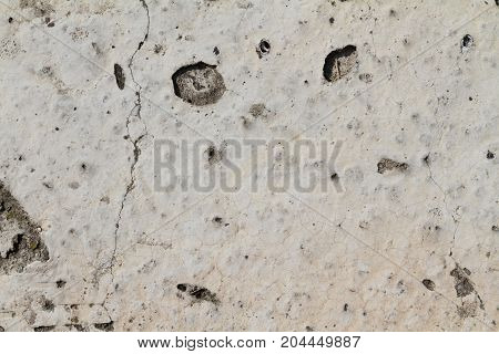 cracked and pitted concrete grunge grime texture