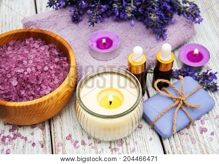 Spa Products With Lavender