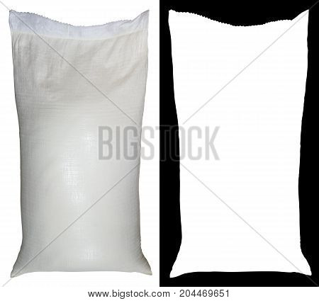 Bag Of Flour From Polypropylene, 50 Pounds, With Alpha Channel