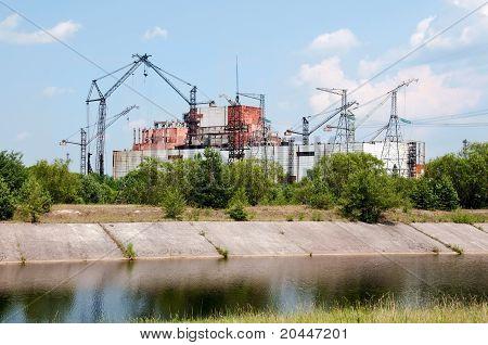 Chernobyl atomic power station