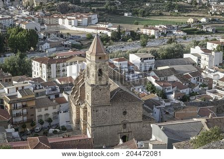 View Of Loja Town In Southern Spain,