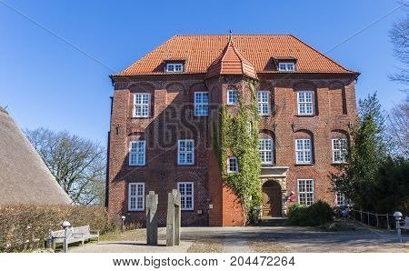 Baroque Castle Agathenburg In Lower Saxony