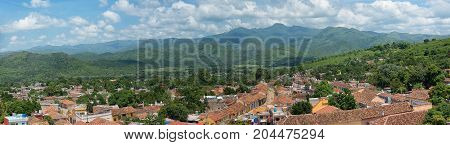 Trinidad, Cuba: The Spanish colonial village is a Unesco World Heritage Site and major tourist attraction in the Caribbean Island
