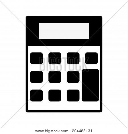 contour technology calculator tool to account economy vector illustration