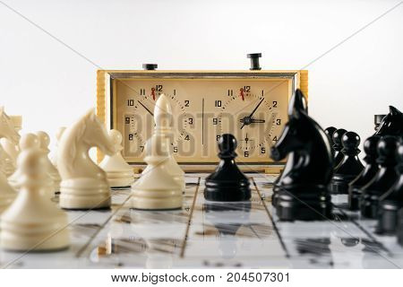 Chess Game With Chess Clock