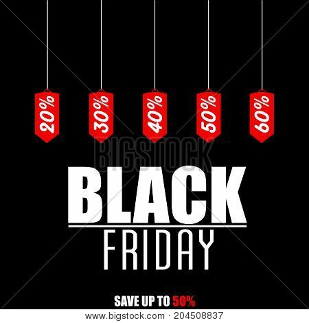 BLACK FRIDAY TEXT  AS AN ILLUSTRATION ON BLACK BACKGROUND. SHOPPING BACKGROUND. BLACK FRIDAY SUPER SALES.