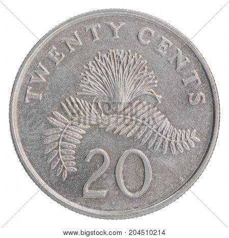 Singaporean Cent Coin