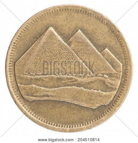 Coin Egyptian Piastres