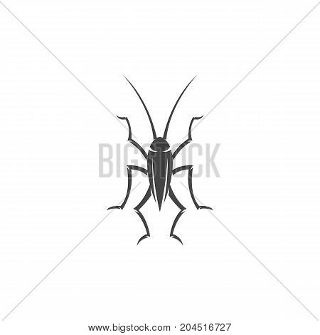 Cockroach icon. Vector logo illustration isolated sign symbol