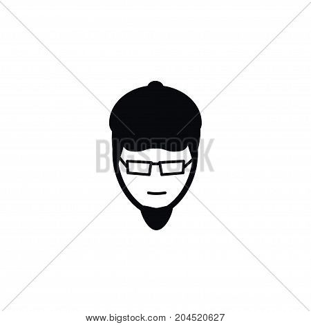 Painter Vector Element Can Be Used For Painter, Artist, Person Design Concept.  Isolated Artist Icon.