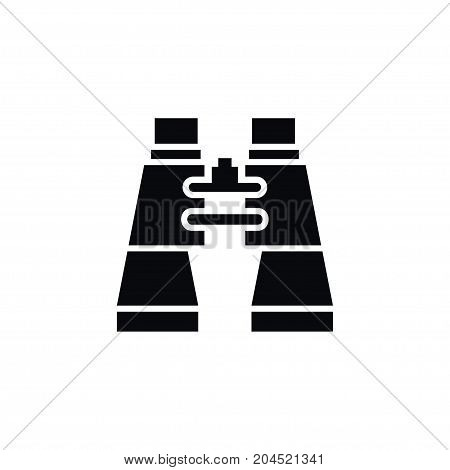 Binoculars Vector Element Can Be Used For Binoculars, Glass, Vision Design Concept.  Isolated Glass Icon.