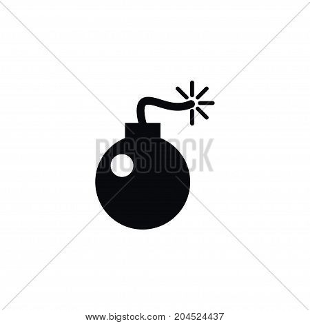 Bombshell  Vector Element Can Be Used For Bombshell, Bomb, Weapon Design Concept.  Isolated Bomb Icon.