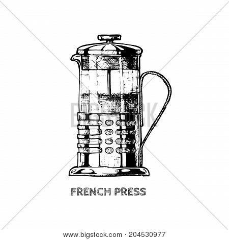 Illustration Of French Press