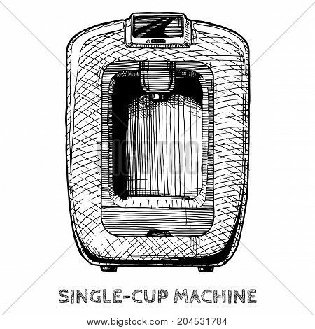 Illustration Of Coffee Machines
