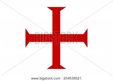 malta order templar knights red cross symbol