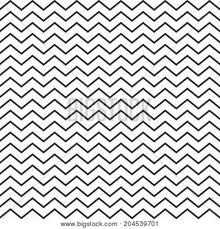 Zig zag pattern. Seamless zig zag line pattern. Vector illustration.