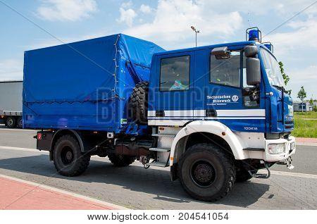 German Rescue Truck