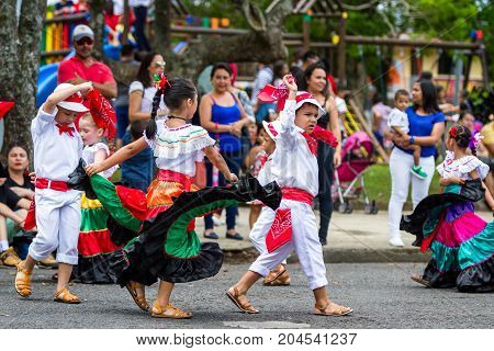 Independence Day Parade, Costa Rica