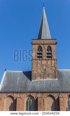 Tower Od The St. Joris Church In Amersfoort