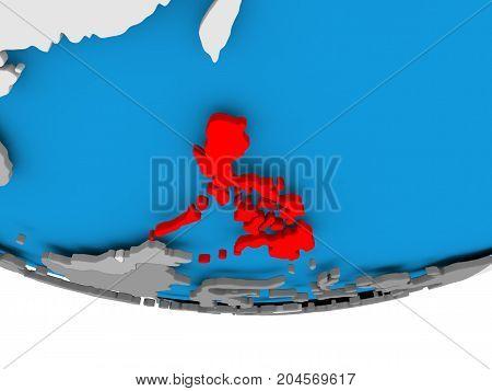 Philippines On Globe